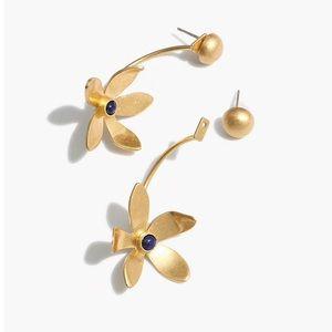 New Madewell Petal-stem Statement Earrings